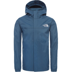 The North Face Resolve Chaqueta Lluvia Niños, blue wing teal
